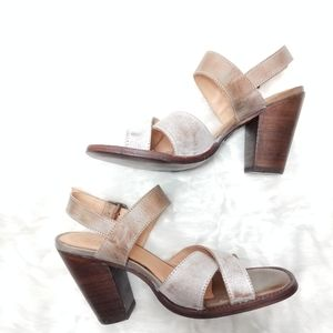 Bed Stu Stacked Heel Sandals Inez